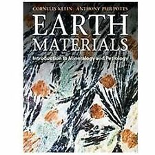 Earth Materials : Introduction to Mineralogy and Petrology