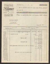 """DONCHERY (08) APPAREILS CHAUFFAGE & CUISINE """"FAUNUS"""" en 1932"""