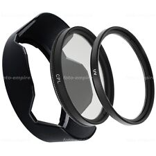58mm filtro UV & CPL & Parasole Compatibile con Canon 550d 600d 1200d 18-55mm