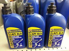 3 LT Litres Morris Hypoid  EP 80w/90 EP 80W90  Gear Oil GL5