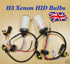 H3 10000K HID Xenon car Bulb car replacement 2 Bulbs 35w Lamps Metal based U.K.