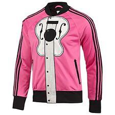 NWT~Adidas JEREMY SCOTT GUITAR note Track shirt Jacket music OBYO firebird~Sz Lg