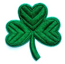 Shamrock Patch Irish Leaf Clover Sew Iron On Ireland St Patrick's Day