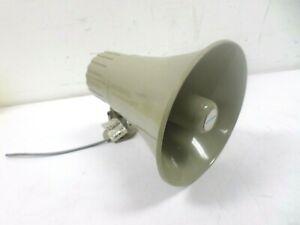 Bogen Horn Loudspeaker 30 Watt Paging Metal PA Single Tap Speaker 70v HS30EZ