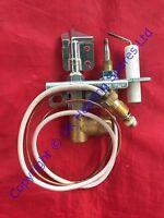 Flavel Renoir ODS Black & Bronze Gas Fire Oxypilot P089383 NG9057