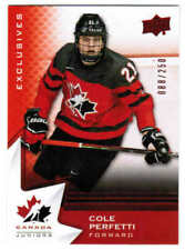 2020 UD TEAM CANADA JUNIORS/WOMEN/ALUMNI EXCLUSIVES CARDS 1-100 U-Pick From List