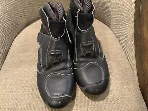 Sidi  Road Bike Shoes Size 45 EU 11 US Black  Straps Racing