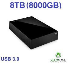 External Hard Drive for Xbox One X - 8000GB / 8TB -Xbox One Extra Memory/Storage