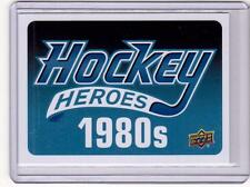 HOCKEY HEROES 1980s HEADER 12/13 Upper Deck #NNO SP Case Break Hit UD Series Two