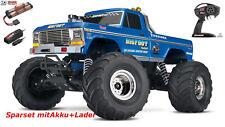 Traxxas  36034-1  BIGFOOT No.1  RTR +12V-Lader blau