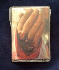 Saint Father Pio relic - Pietrelcina - Padre - Holy card - Blessed by Pope