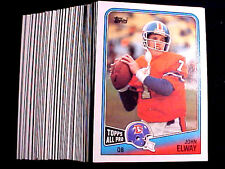 JOHN ELWAY  ~ 1988 Topps #23 Card ~ LOT OF 20 CARDS = Only 48c per card  BV=$2