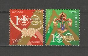 S35142 Belarus Europa Cept MNH 2007 2v Scout Baden Powel