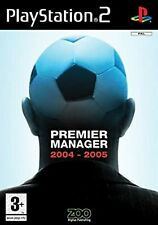 Premier Manager 2004/2005 PS2 PlayStation 2 Video Game Premiership Football 4/05