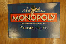 Monopoly Hasbro 2014 BB Bellevue's best Picks special edition RARE Board Game