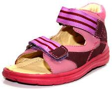 Sandales en cuir pour fille de 2 à 16 ans pointure 25
