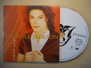 MICHAEL JACKSON : EARTH SONG [CD SINGLE]