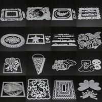 26 Type Lace Die Stencil Metal Cutting Scrapbooking Card Embossing Craft DIY