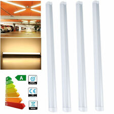 """5x T8 LED Integrated Tube Lights 2ft 24"""" Complete With Fitting 60cm Warm White"""