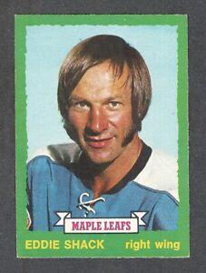 1973-74 EDDIE SHACK #242 VG-EX+ OPC ** Popular Maple Leafs Star NHL Hockey Card