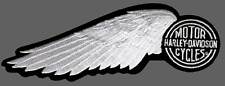 HARLEY DAVIDSON RETRO CIRCLE WING FEATHER PATCH