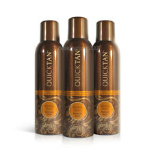 3 Bottles Body Drench Quicktan Quick Tan Bronzing Spray Medium Dark 170g 6 oz
