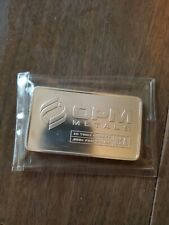 OPM 10 oz Silver Bar Sealed in plastic 10 Troy OZ .999 Fine Silver USA