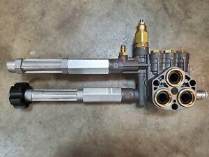 Pump Head AR SRMW2.4G28 SRMW2.3G28 Pressure 706015 Briggs & Stratton