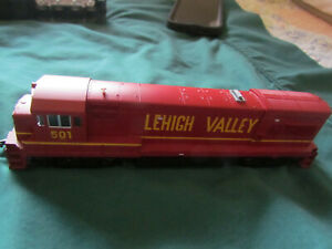 Atlas #8661 U23B Diesel, Lehigh Valley #501 - , HO, DC