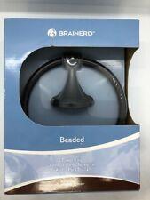 New Brainerd Beaded Towel Ring- Venetian Bronze
