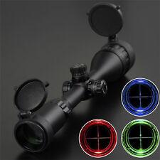 3-9X50AOL Scope Quick Turn Lock Zero W/E Side RGB Illumination With Sunshade HOT