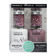 CRE8TION MATCHING COLOR GEL & NAIL LACQUER SET - 190 Candy Land