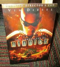 Chronicles Of Riddick - Unrated Director'S Cut Dvd Movie, Vin Diesel, Judi Dench
