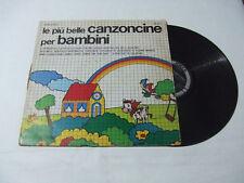 Le Più Belle Canzoncine Per Bambini - Disco Vinile 33 Giri LP Album  ITALIA 1973