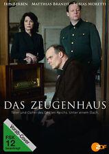 Das Zeugenhaus - Iris Berben - Tobias Moretti -Matthias Brandt- DVD - Neu u. OVP