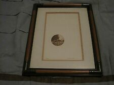 """Elwood Miller Signed LE 29/200 Signed Mixed Media Embossed Etching Print 13x16"""""""