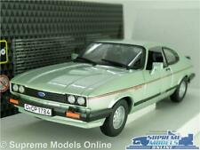 FORD CAPRI 2.8I MK3 MODEL CAR GREEN 1978-1987 1:24 SCALE OPENING PARTS LARGE K8