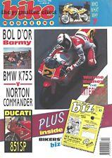 GSX-R1100 BMW K75S Norton Commander GS1100 Ducati 851 851SP Wayne Rainey Harley