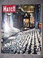 PARIS MATCH n°706 20-10-1962 CONCILE⧫PAGNOL⧫COMÉDIE FRANÇAISE⧫HENRI OREILLER