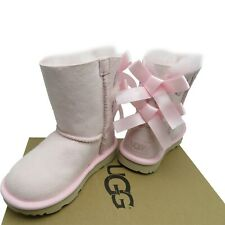 UGG Toddler Girl BAILEY BOW II Boot Sheepskin size: 9