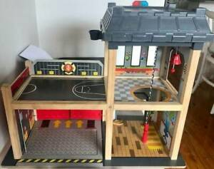 Hape Fire Station Toy
