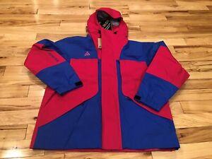 Nike ACG Gore-Tex Jacket Blue Rush Pink BQ3445-666 Men's MEDIUM ($500) NWT