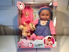 Uneeda 2019 Baby Doll Baby First Born Samantha- Afr American Nib