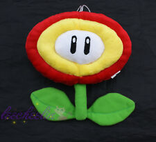 Super Mario Bros Fire Flower and Ice Flower Plant Soft Plush Toys