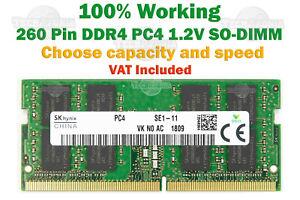 8GB 2133MHz or 2400MHz or 2666MHz DDR4 SODIMM PC4 1.2V LAPTOP SD RAM for PC Mac+