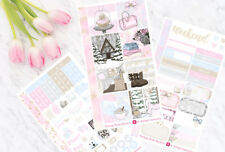 Pinkness Personal Planner Stickers for Erin Condren Planners sewmuchcrafting UK