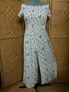 LADIES TREE OF LIFE JUMPSUIT SIZE M FIT APPROX 14