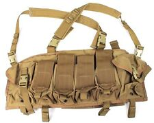 TSSI Tactical Survival Specialties Coyote Brown Old Gen Chest Rig TAG LBT EAGLE