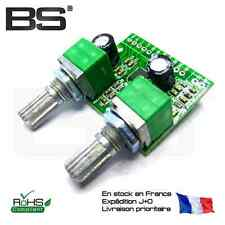 Amplificateur audio 5V 2.1 3D Surround + subwoofer USB Audio amplifier 5W + 2x3W