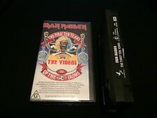 IRON MAIDEN THE FIRST TEN YEARS THE VIDEOS AUSTRALIAN VHS VIDEO